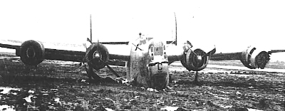 42-51186 Front view - After crash 10 Jan 45