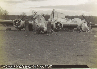 44-10528 Crash - 31 Dec 44