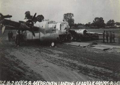 44-40295  Accident - 12 Aug 44