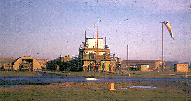392nd Bomb Group Control Tower