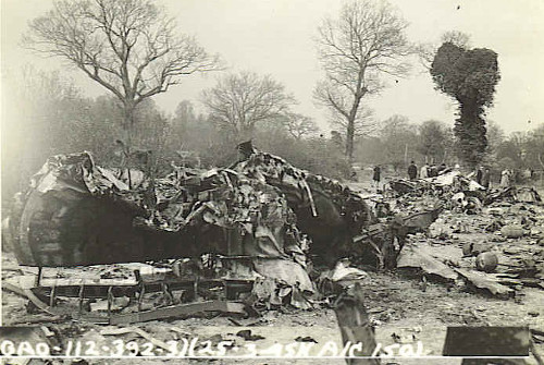 after crash 22 Mar 45