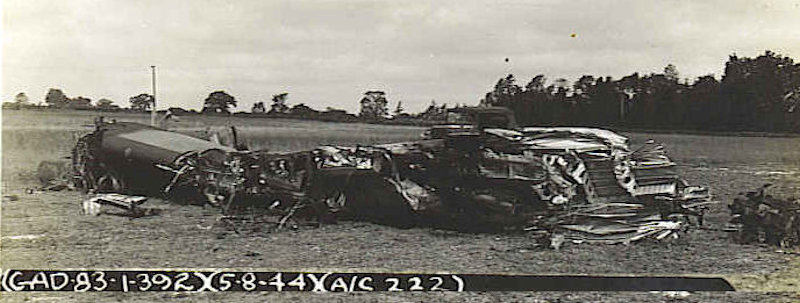 after crash 5 Aug 44
