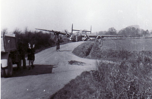 brake failure 25 Mar 45