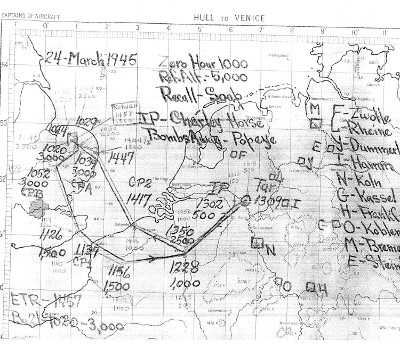 mission map 24 Mar 45