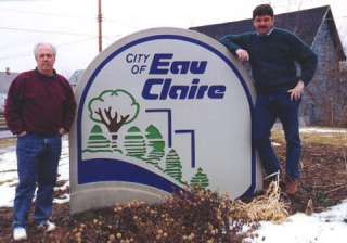 Bob Books and Jim Marsteller in Eau Claire